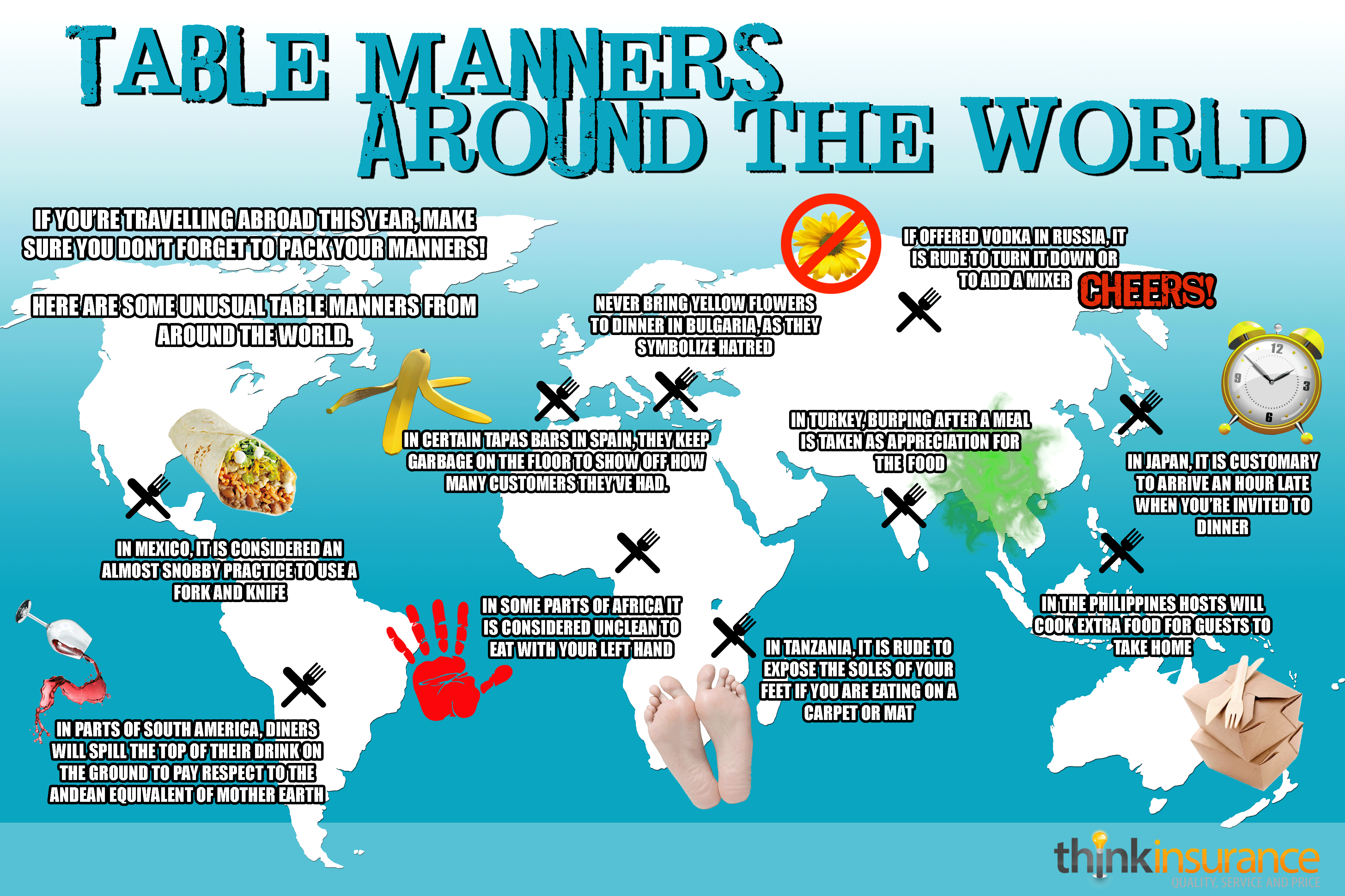 Table Manners Around World